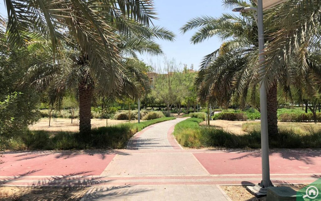 JVC has many fitness options, the landscaped parks being one of most popular and cheap options in JVC