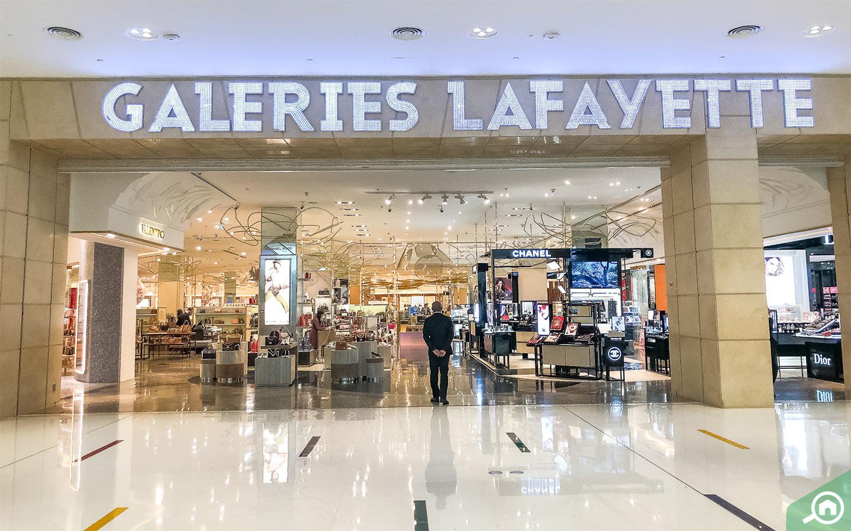 Galeries Lafayette in Dubai Mall