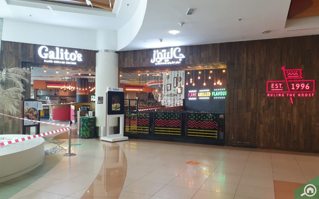 Galito's in Al Wahda Mall