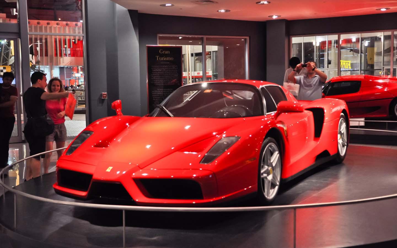 Galleria Ferrari in Ferrari World Abu Dhabi
