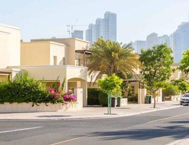 مجمعات سكنية مسورة في دبي