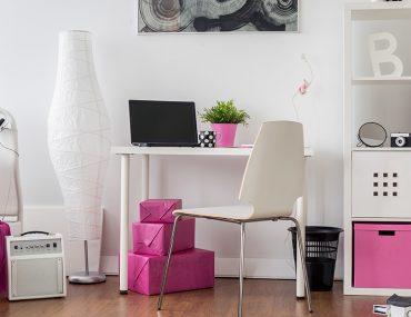 غرفة وردية