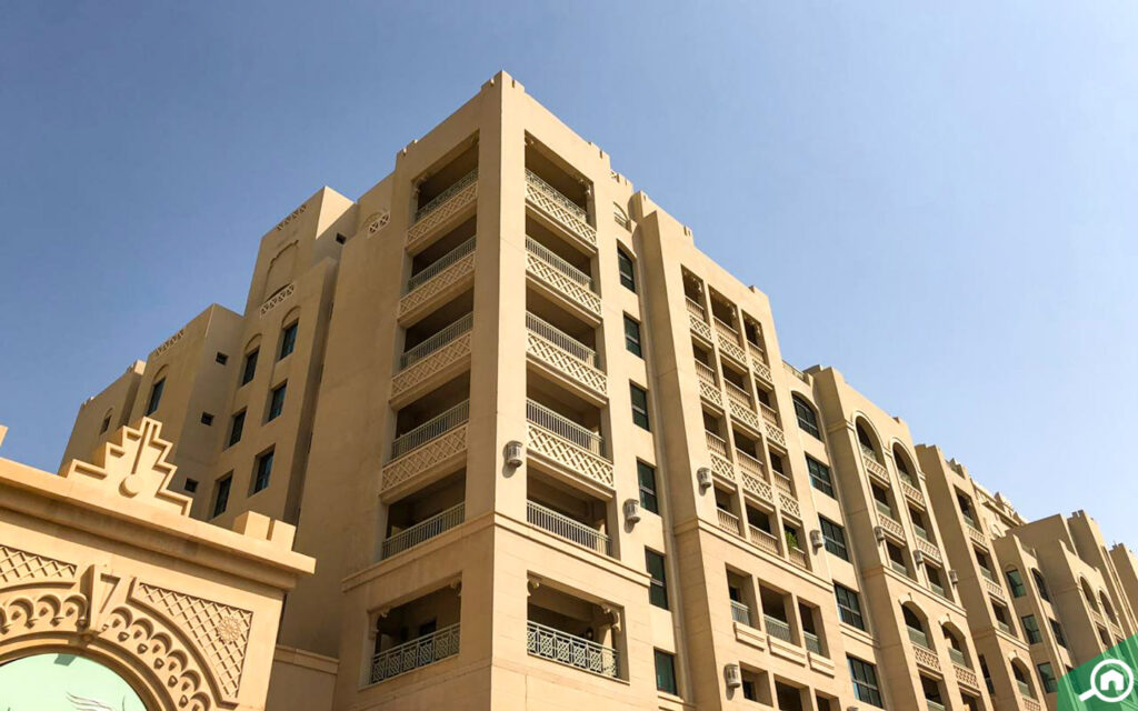 Golden Mile residential building in Palm Jumeirah