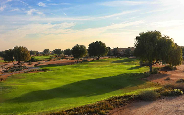 GOlf course at Arabian Ranches Golf Club Dubai