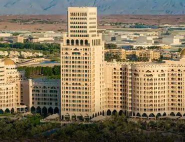 Aerial view of Waldorf Astoria Ras Al Khaimah