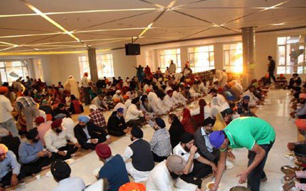 Guru Nanak Darbar langar