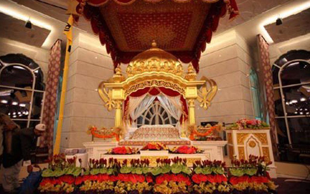 Inside Guru Nanak Darbar, Dubai