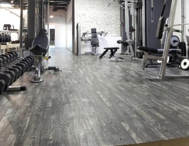 Inside view of a gym in Al Barsha