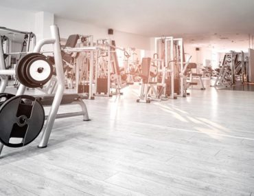 Inside view of one of the top gyms in Sharjah