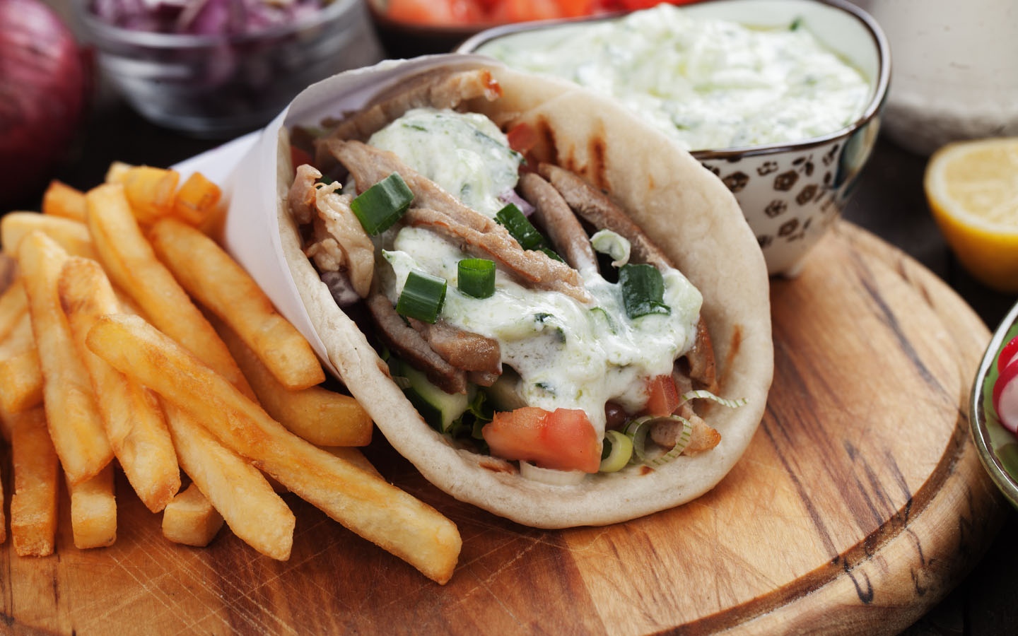 The wrap at Doner & Gyros is a famous one among restaurants in Al Reem Island