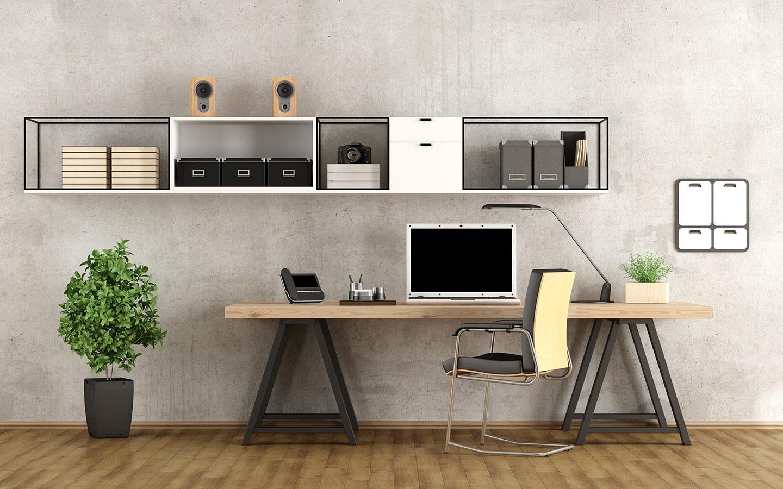 عليك تجنب الوقوع في اتباع الأسلوب الفوضوي عند تصميم مكتب مثالي لك في المنزل للعمل