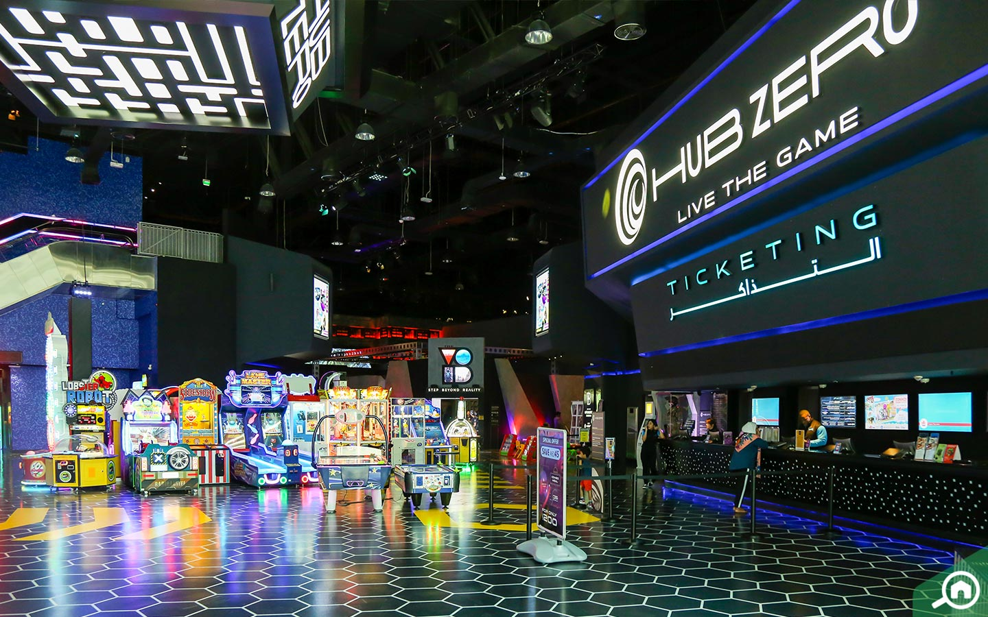 Hub Zero - the Gaming zone - Things to do in City Walk Dubai