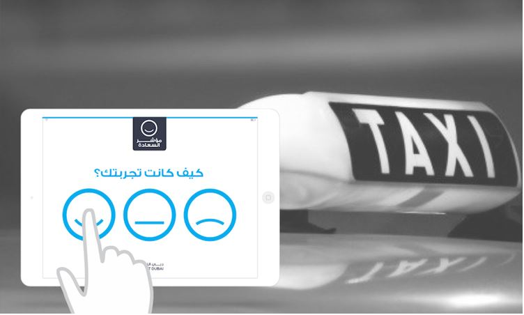 The Happiness Metre, as Displayed on RTA's Official Website