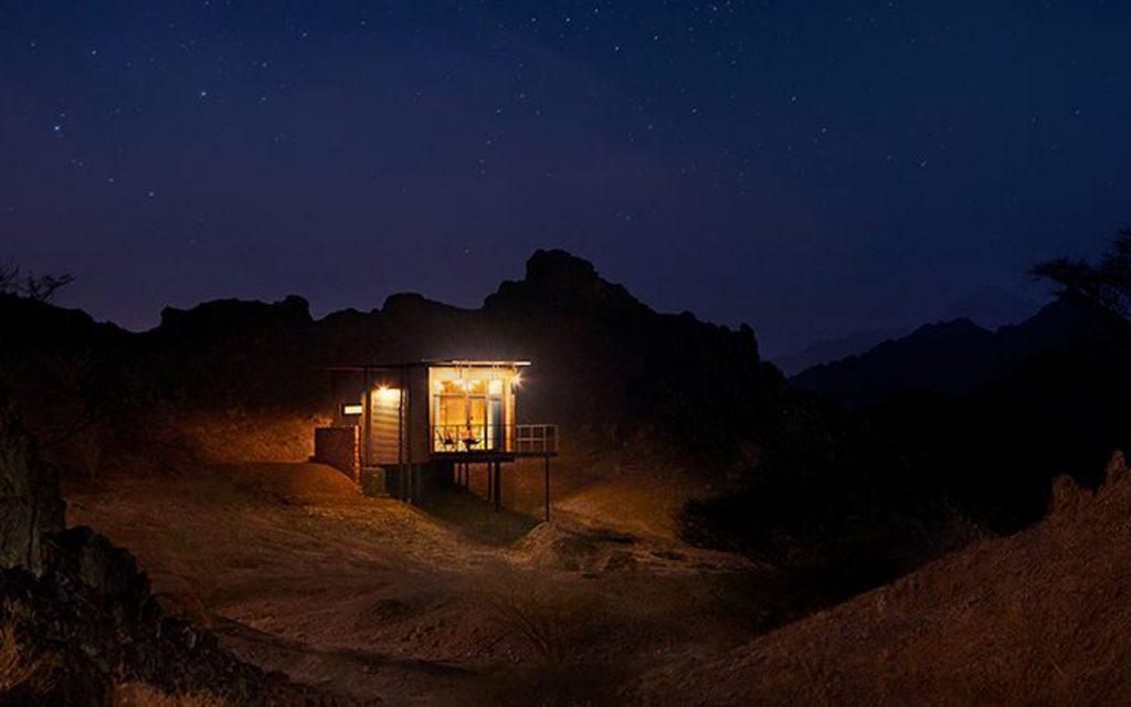 احد اماكن التخييم في حتا