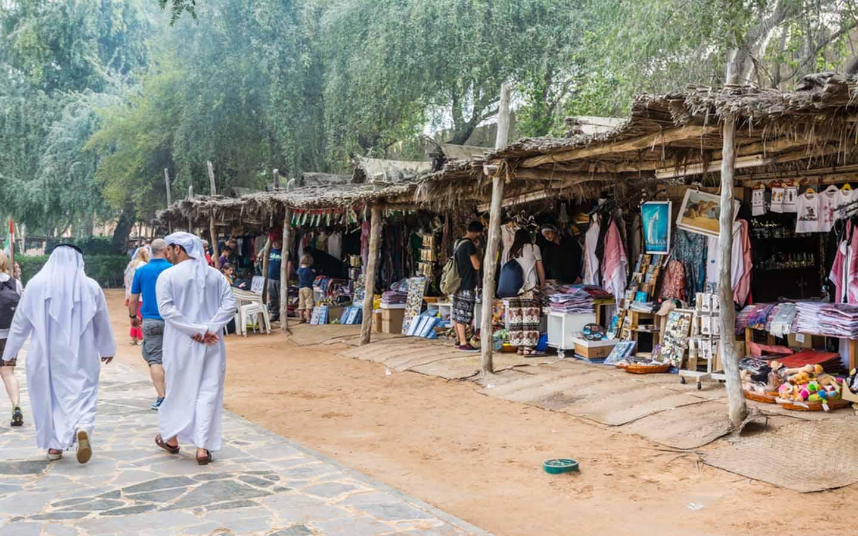 Souk in Heritage VIllage Abu Dhabi