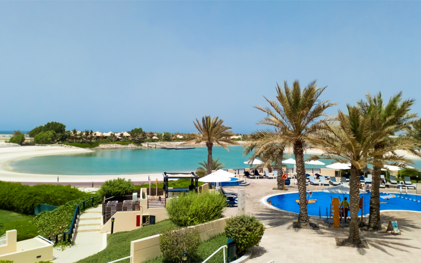 Hilton Al Hamra Beach & Golf Resort is a perfect holiday spot for young couples