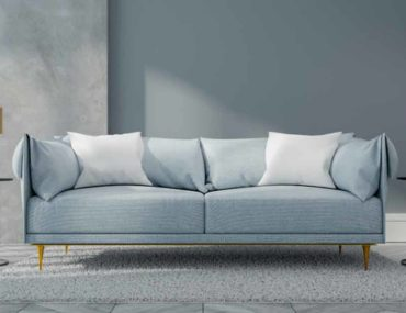 أريكة زرقاء