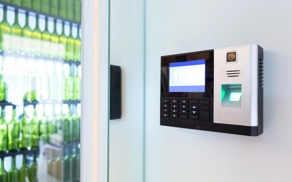 Access control system outside home