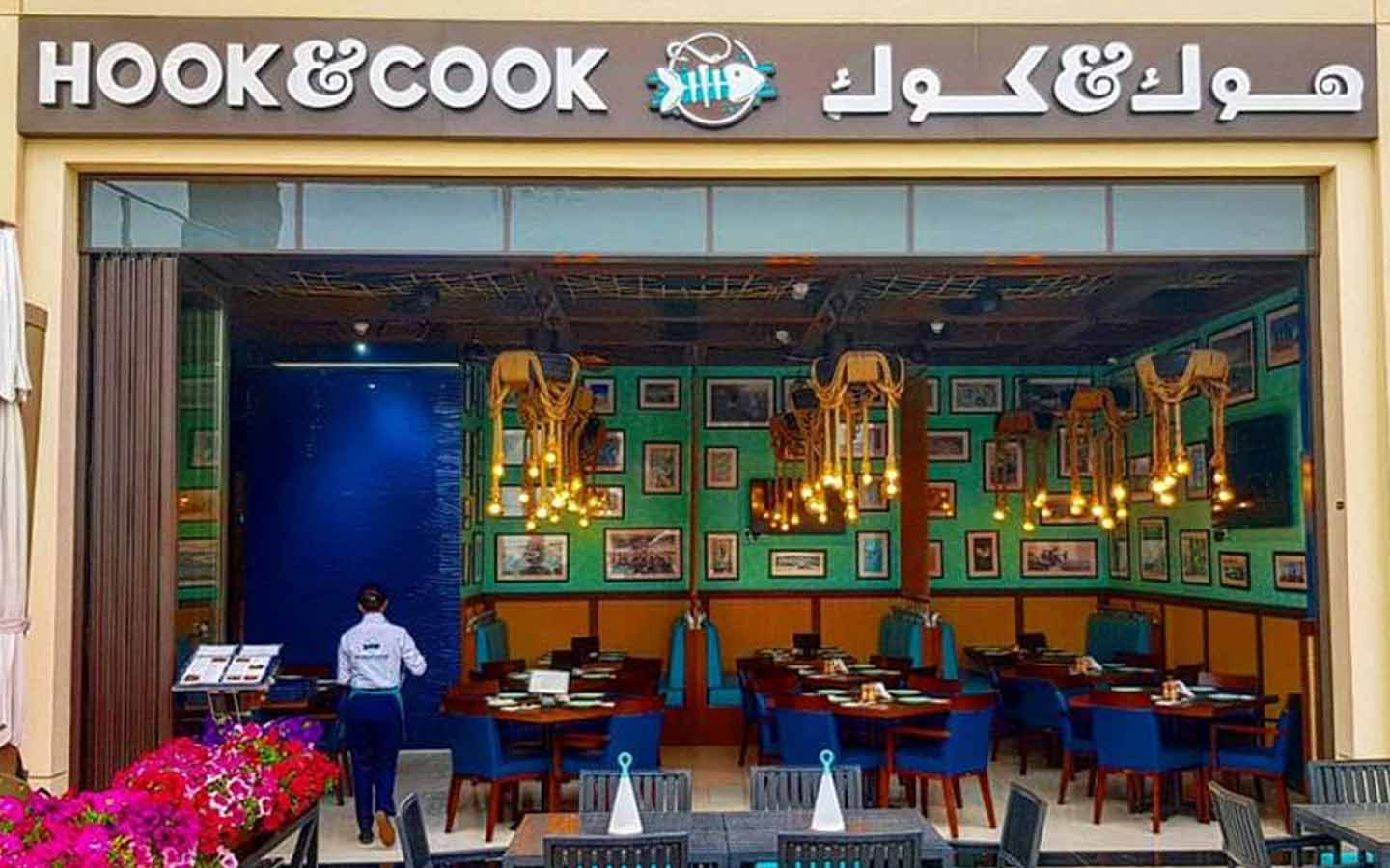 Hook and Cook restaurant