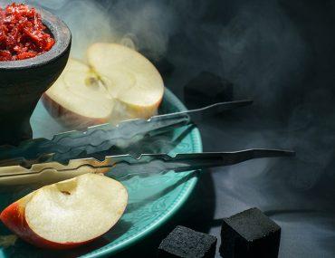 شيشة معسل تفاحتين
