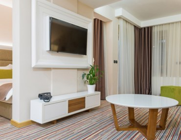 A room in one of the Hotel apartments in Deira