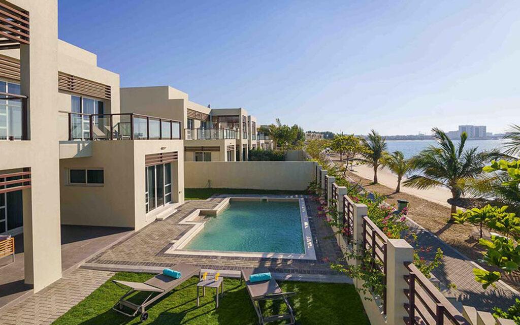 Top view of Jannah Resorts and Villas