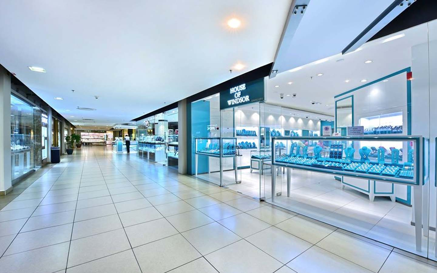 House of Windsor jewellery store at the Dubai Gold and Diamond Park