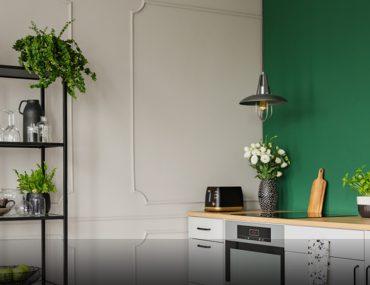 vertical gardening in kitchen