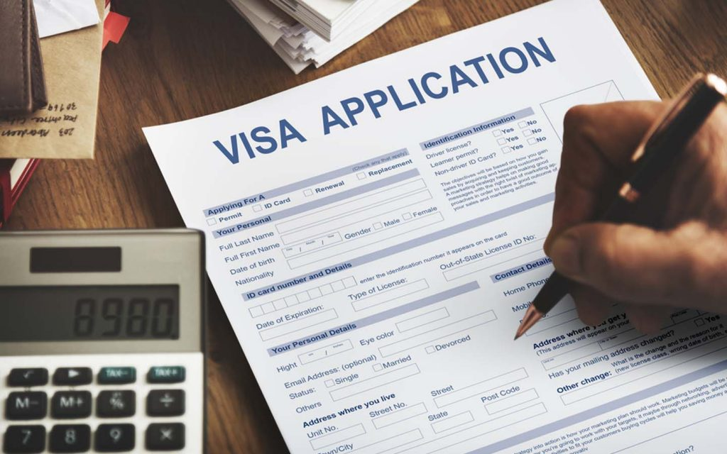 Visa application form for Japan has to be submitted with other other documents