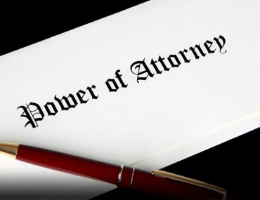 How to notarize a power of attorney