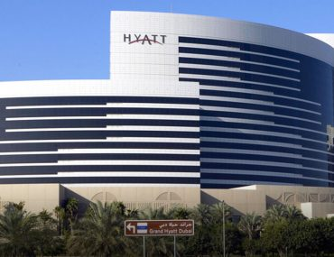 Hyatt hotel in Dubai