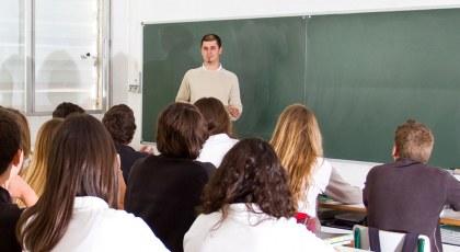 استاذ وطلاب