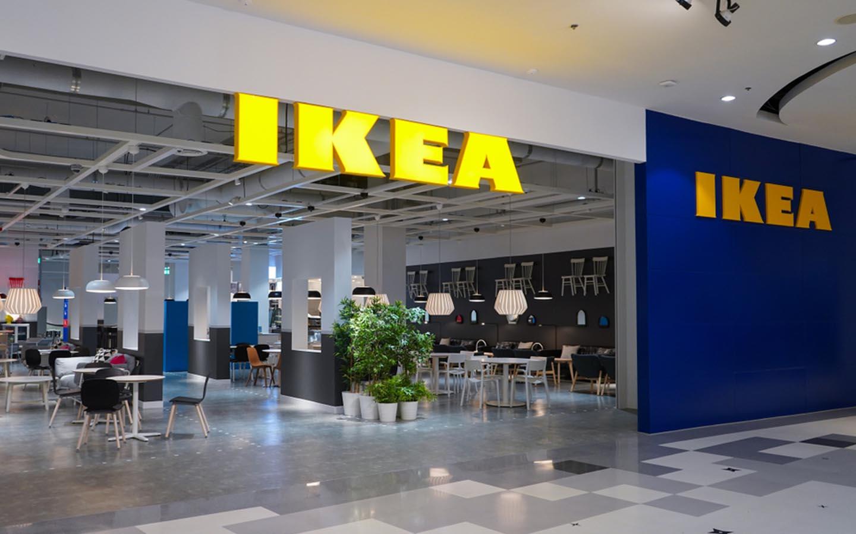 IKEA store entrance
