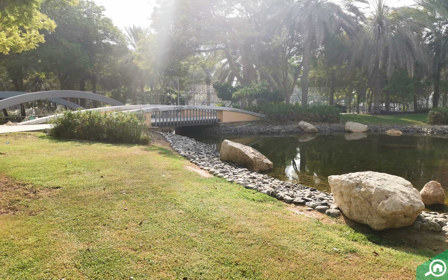 Zabeel park in Dubai lake