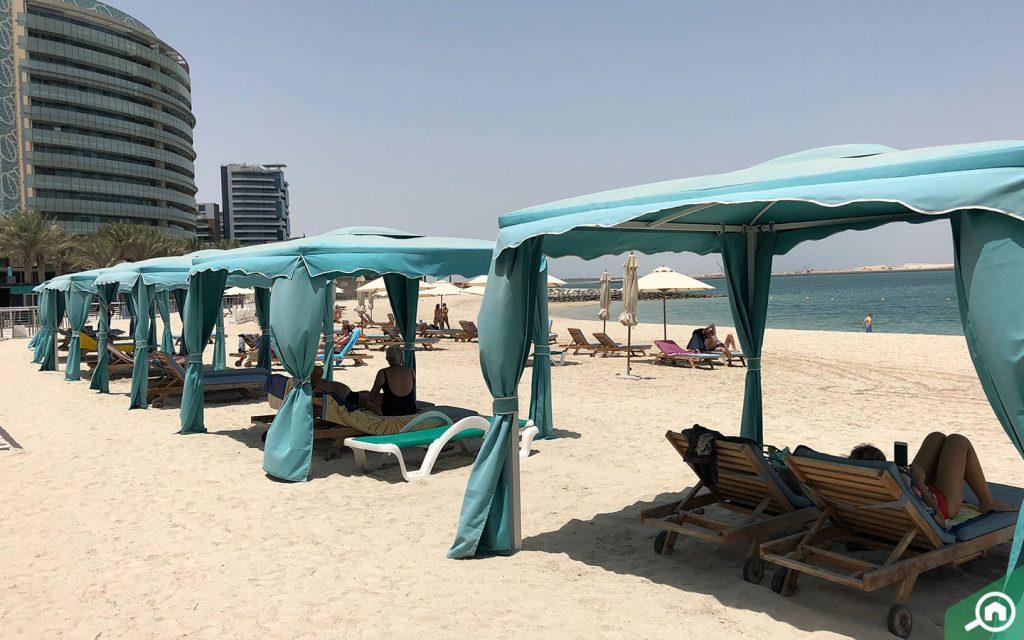 Beach at Al Raha Beach