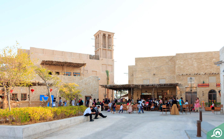 Al Seef for Instgramming in Dubai