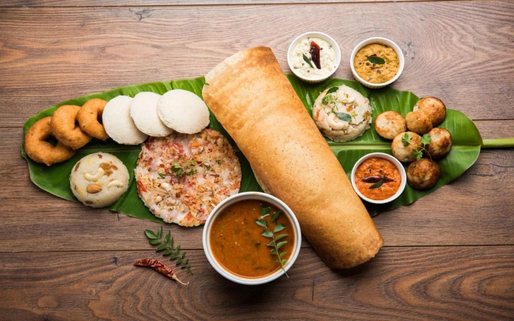 طعام هندي نباتي