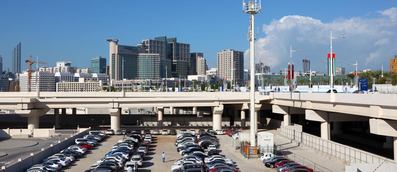 Image Mawaqif SMS car parking in Abu Dhabi