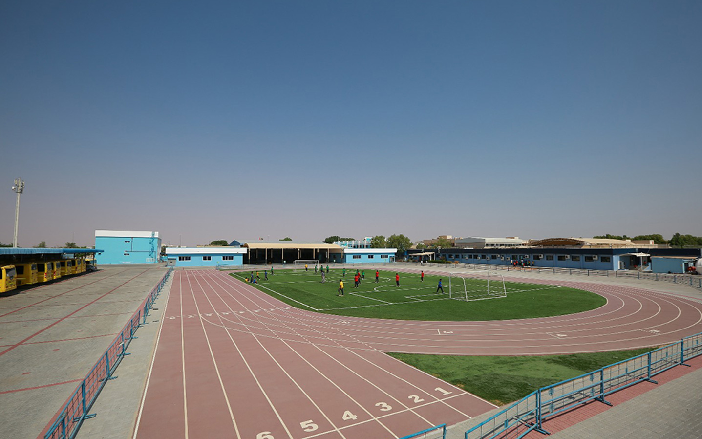 Sports ground in Indian School Al Ain