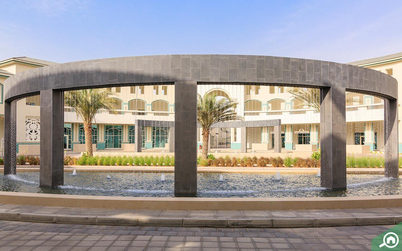 بحيرة في حديقة المعرفة دبي