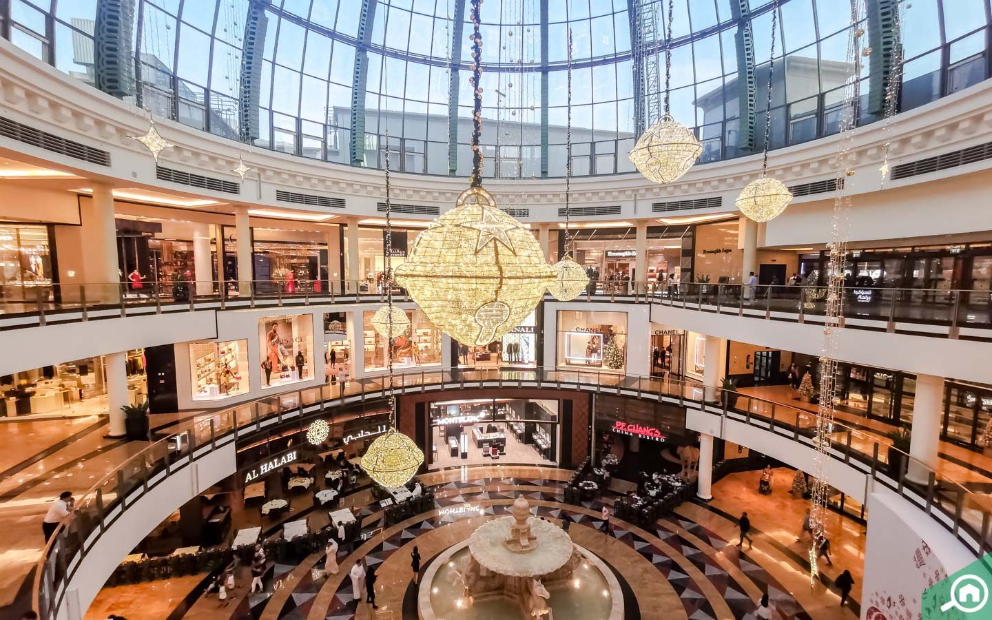 Inside Mall of Emirates