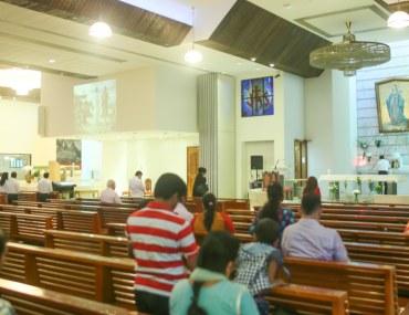 Interior of a Church in Dubai