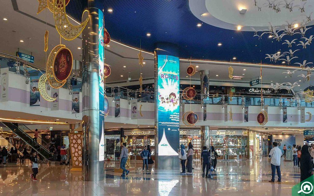 interior of Marina Mall Abu Dhabi