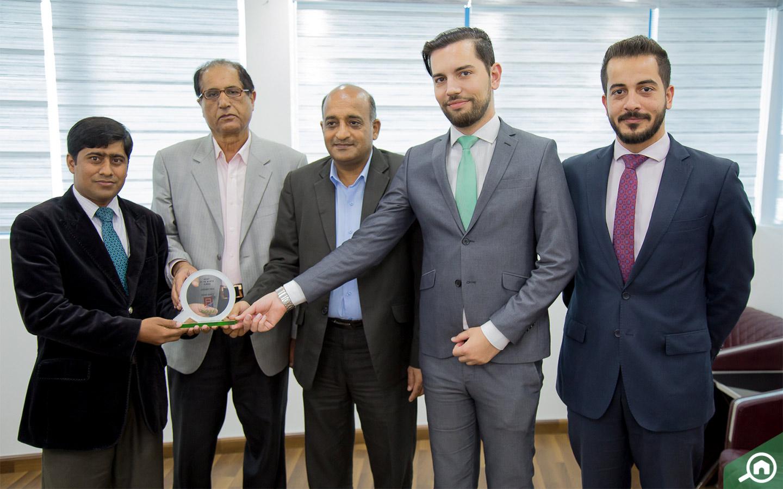 Irfan Ahmed, sales agent at Al Amlak Real Estate