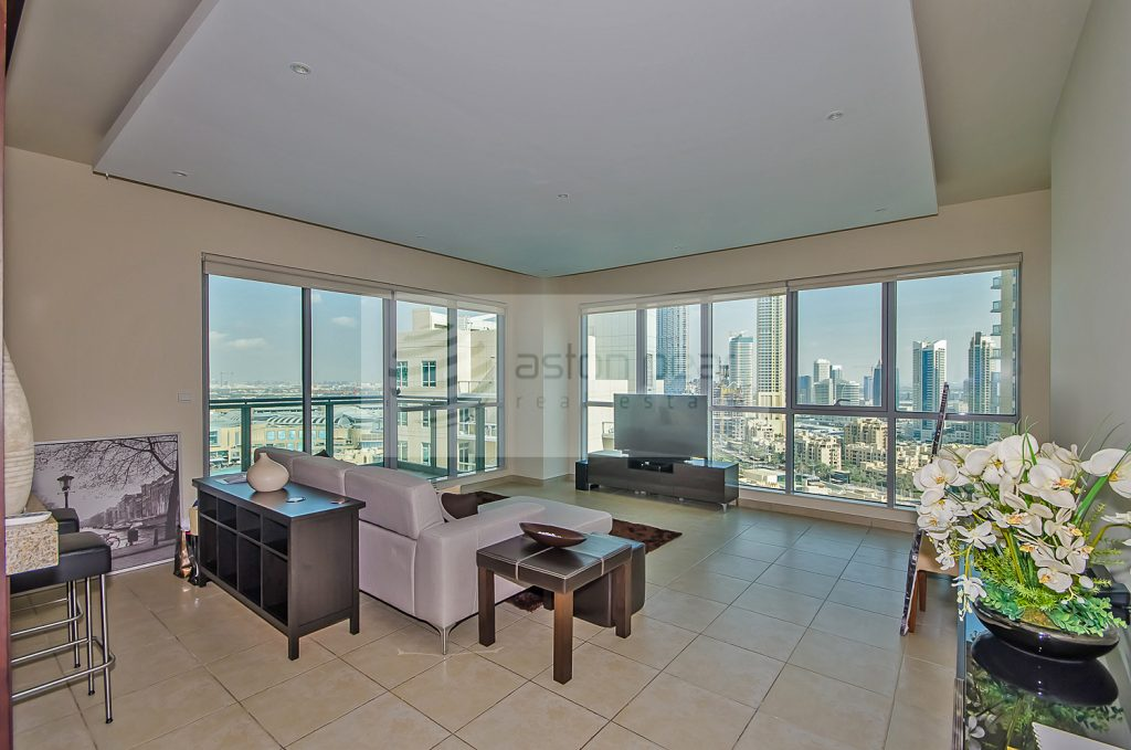 House of the Week: 2-bed with Stunning Views of the Burj and the Fountain