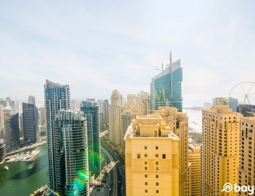 View from Sadaf 8 in JBR