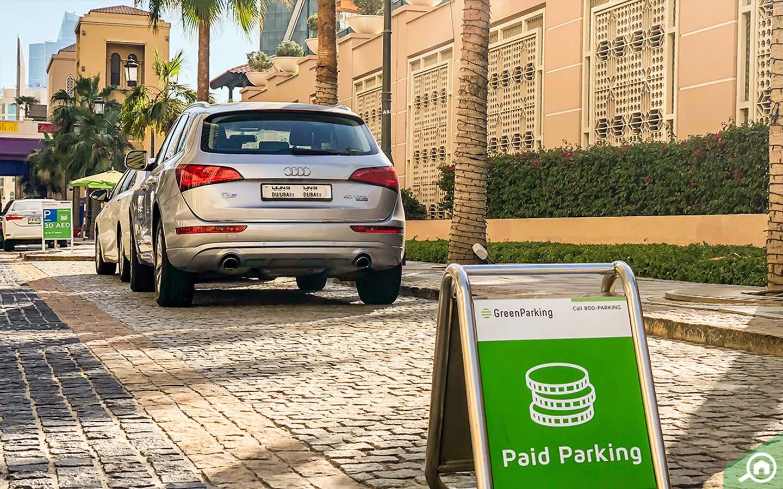 JBR Beach Paid Parking