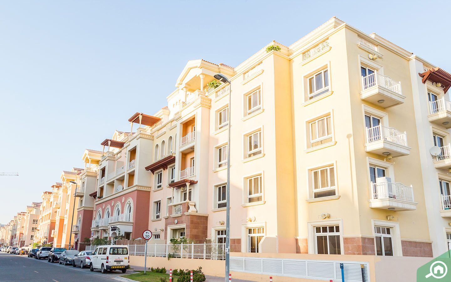 Jumeirah Village Circle apartment buildings, which have freehold flats in Dubai