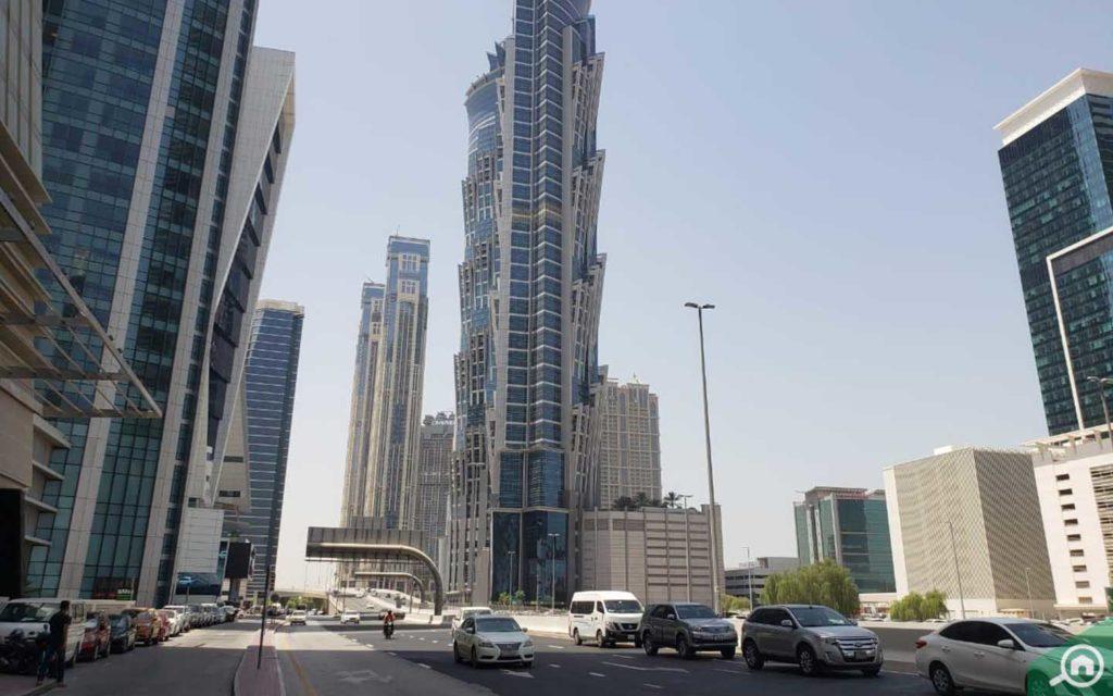 The JW Marriott Marquis in Dubai