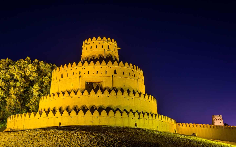 Jahili Fort nightview